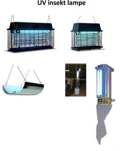 UV insekt lampe
